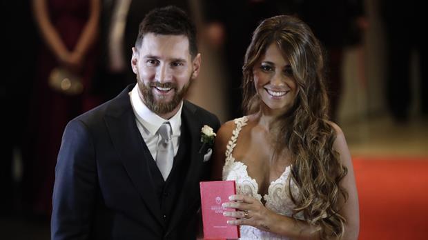 Messi y Antonela descansan en Antigua y Barbuda