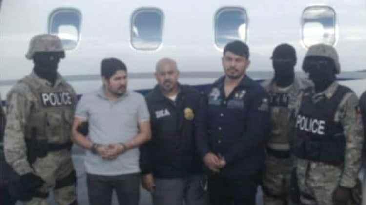 Efraín Antonio Campo Flores y Franqui Francisco Flores de Freitasfueron arrestados en Haití
