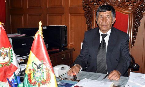 Pastor Mamani, presidente del Tribunal Supremo de Justicia