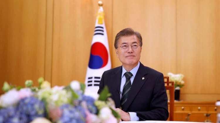 Moon Jae-in pidió a la comunidad internacional sanciones más duras contra Corea del Norte (Reuters)