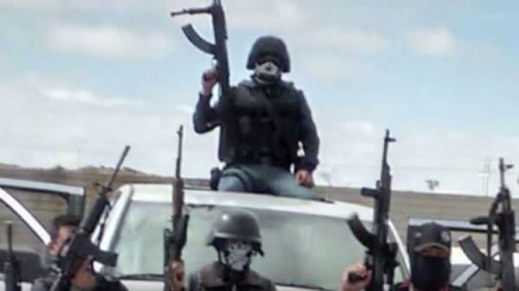 Las cámaras de seguridad han captado el paso de las caravanas de La Línea. Foto: YouTube