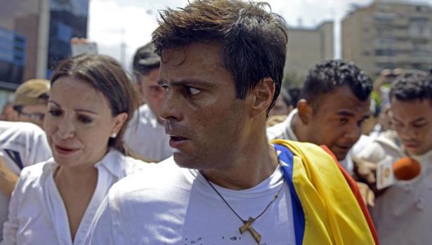 El dirigente opositor venezolano Leopoldo López