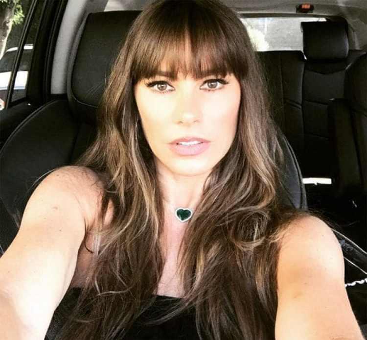 Sofía Vergara decidió cambiar a un peinado con flequillo (Instagram)