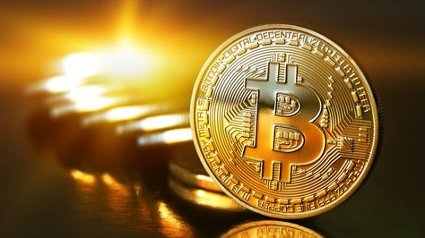 Criptomonedas bitcóin, método de pago popular en internet.