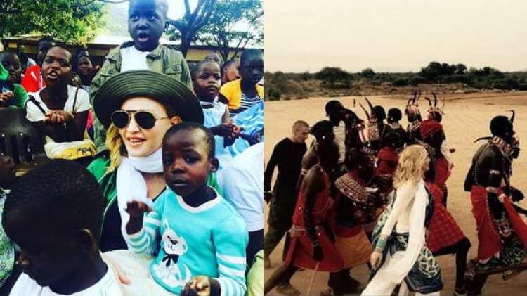 Madonna creó la organización Raising Malawi tras la adopción de sus dos primeros hijos y proyectó la creación de una escuela para 400 alumnas por un coste de USD 15 millones