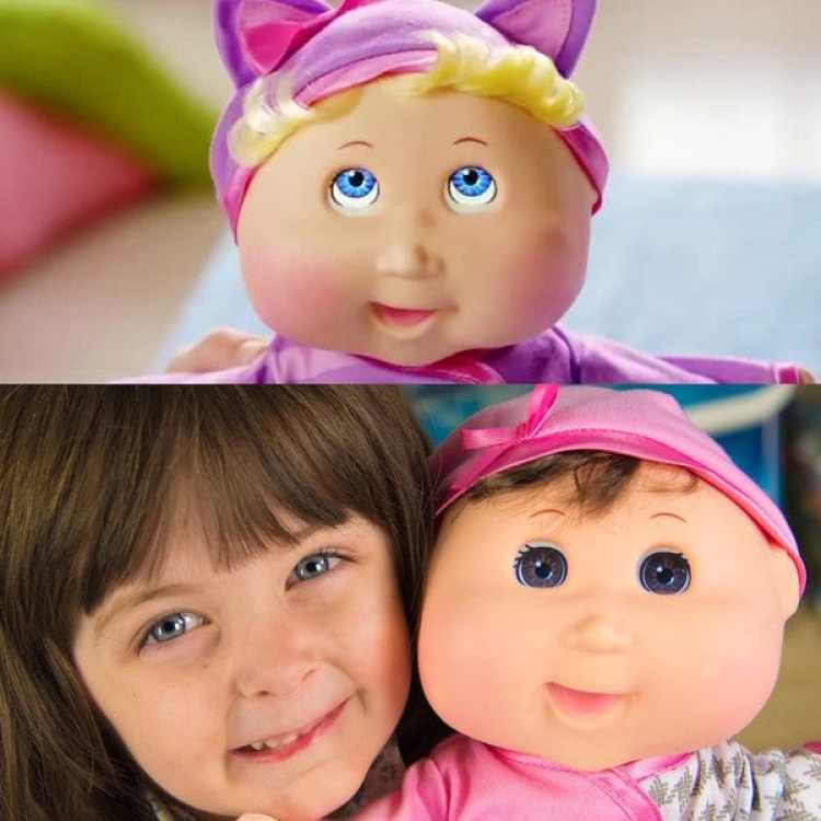 Cabbage Patch Kids Baby So Real de Wicked Cool Toys. Precio: USD 90