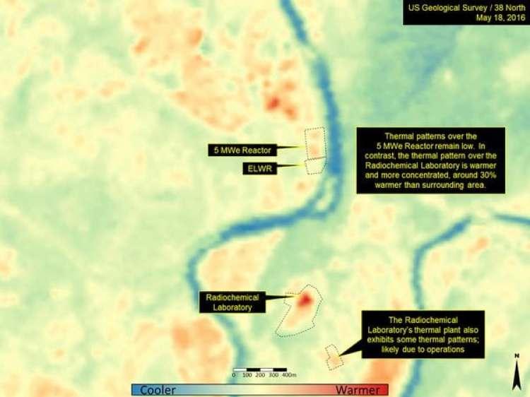 Las imágenes satelitales indican que Corea del Norte estaría aumentando sus reservas de plutonio y uranio en su planta nuclear de Yongbyon.