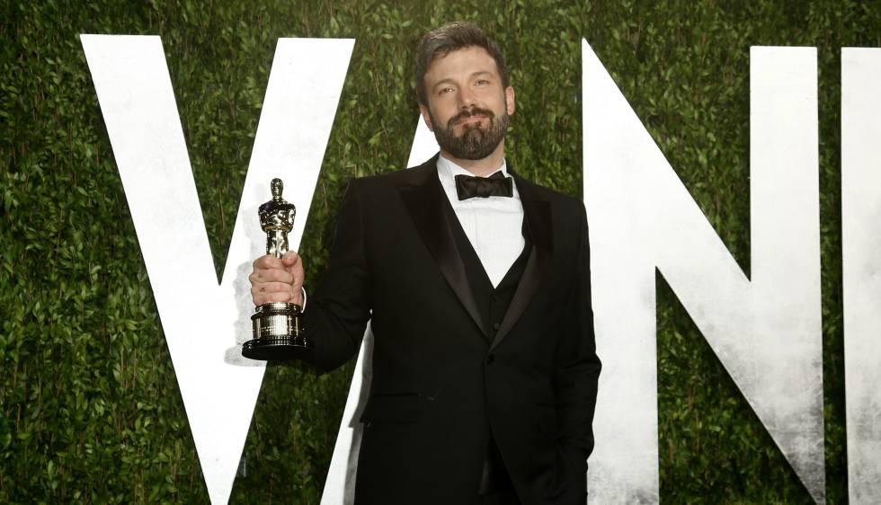 Ben Affleck, con el Oscar a mejor película que ganó por