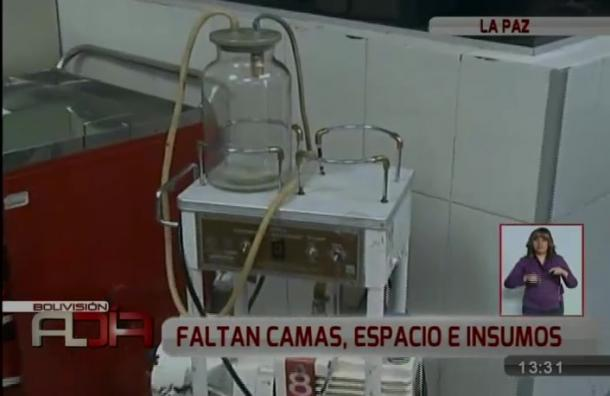 La Paz: Las graves deficiencias del Hospital de Clínicas