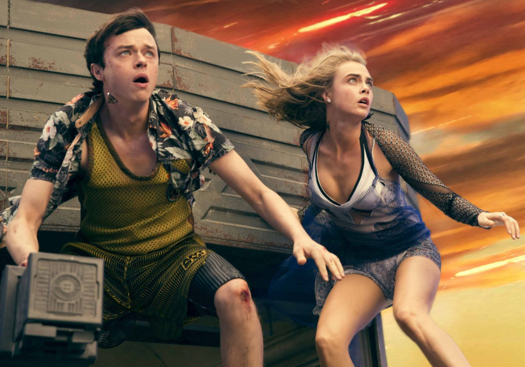 Dane DeHaan, Cara Delevingne, Valerian and the City of a Thousand Planets