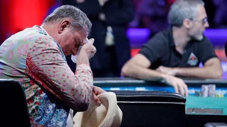 Hesp será el segundo jugador con más fichas en la ronda final (AP)