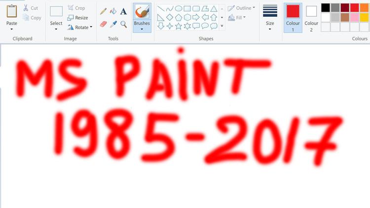¿Y ahora quién podrá defenderme?: Microsoft estudia liquidar el Paint después de 32 años
