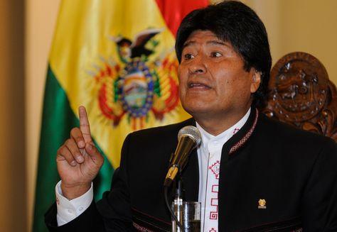 El presidente de Bolivia, Evo Morales Ayma.