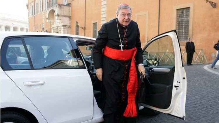 George Pell en El Vaticano. (Getty Images)