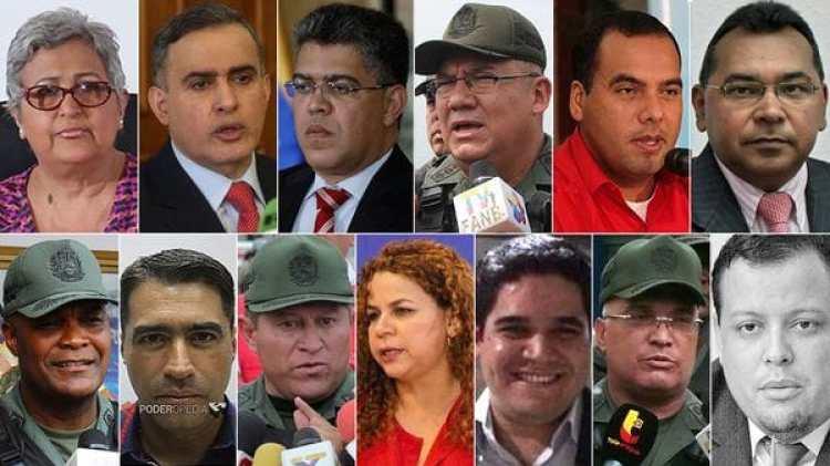 Los 13 sancionados