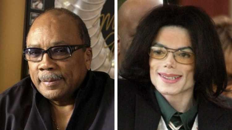 Quincy Jones y Michael Jackson. (AP)