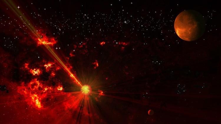 Captan con detalle una de las explosiones más deslumbrantes del universo