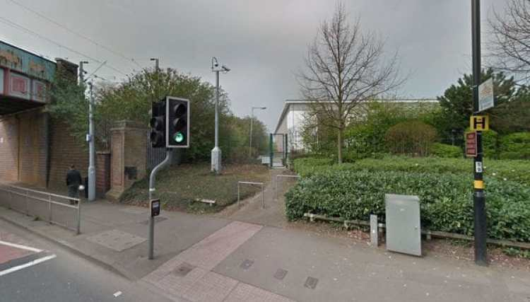 Las cámaras de seguridad del lugar serán de gran ayuda para la Policía de Transporte Británica y la de West Midlands (Google Maps)
