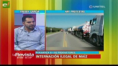 Productores de maíz afirman que el bloqueo en Villamontes los perjudica