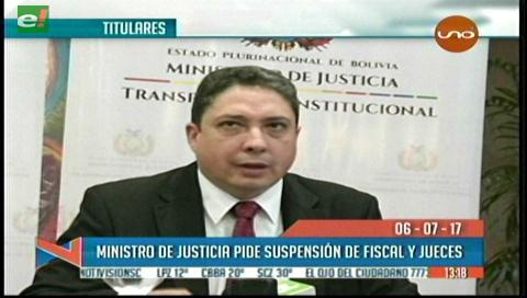 Video titulares de noticias de TV – Bolivia, mediodía del jueves 6 de julio de 2017