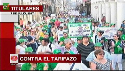 Video titulares de noticias de TV – Bolivia, mediodía del viernes 7 de julio de 2017