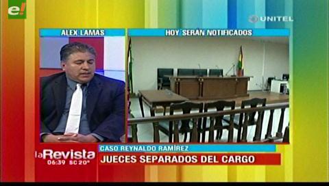 Los jueces del caso Ramírez podrían no volver a su cargo si son juzgados