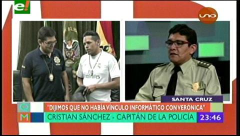 """Capitán Sanchez: """"El caso de Reynaldo no es el único, hay tres más identificados"""""""