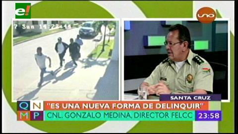 Policía descubre banda de delincuentes peruanos en Santa Cruz; hay 6 prófugos