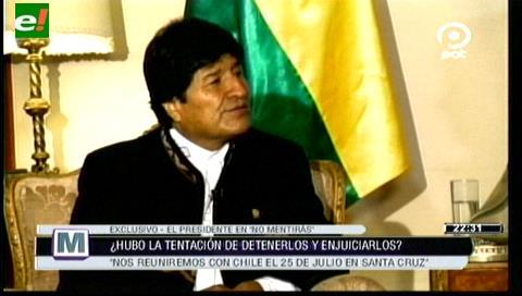 Evo: Reunión entre Bolivia y Chile por temas fronterizos será el 25 de julio