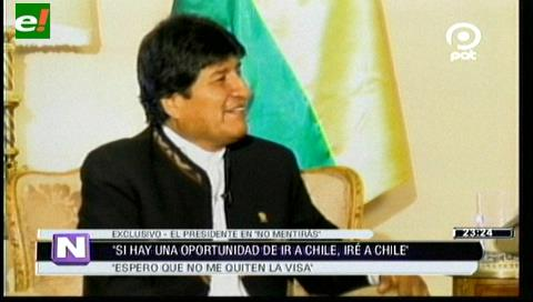 """Evo anuncia que iría """"encantado"""" a Chile si lo invitan"""