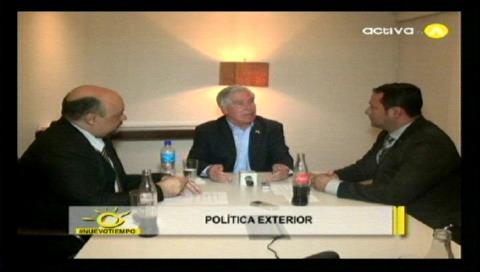 Nuevo Tiempo: Brennan habló sobre visas, comercio y cooperación antidrogas Bolivia-EEUU