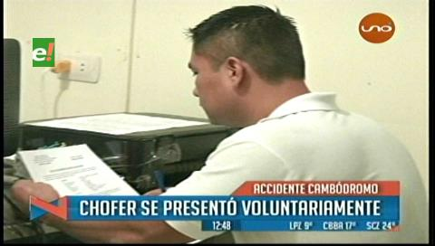 Autor de accidente en el Cambódromo se presentó ante la Policía