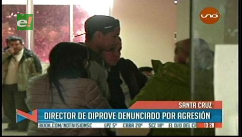 Director de Diprove es denunciado por agresión física