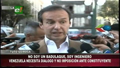 "Tuto a Álvaro: ""Impostor yo ¿Eres tú licenciado?"""