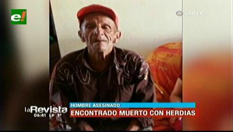 Su cónyuge quedó arrestada: Anciano muere a machetazos