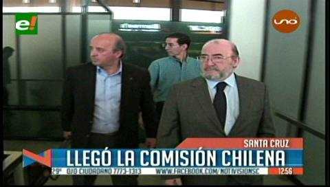 Delegación chilena llega a Bolivia para reunión del Comité de Frontera