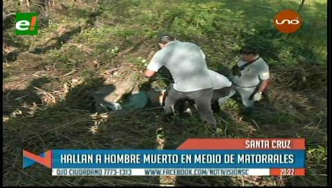 Hallan a hombre sin vida cerca de la laguna Palma Verde