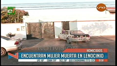 Santa Cruz: Hallan muerta a una mujer en un lenocinio