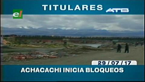 Video titulares de noticias de TV – Bolivia, mediodía del sábado 29 de julio de 2017