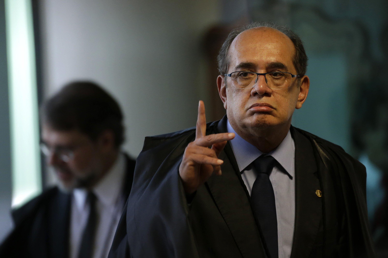Gilmar Mendes, presidente del Tribunal Supremo Electoral de Brasil. EFE/Fernando Bizerra Jr.