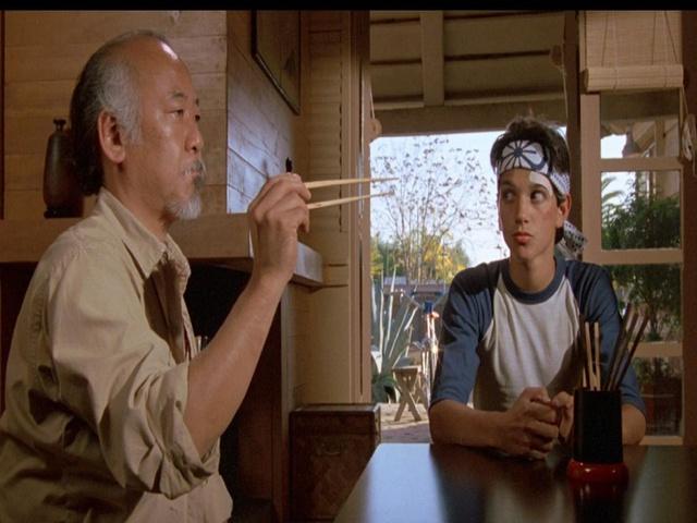 Al señor Miyagi se le echará de menos