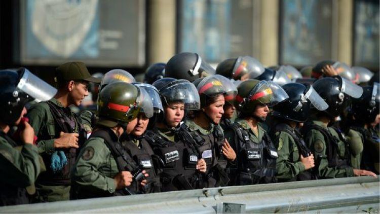 Oficiales de las Fuerzas Armadas (AFP)