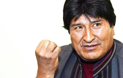 El presidente Evo Morales en entrevista con La Razón. Foto: Miguel Carrasco