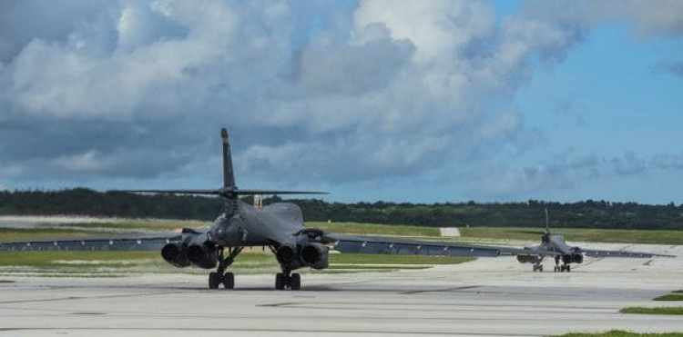 (U.S. Air Force/Tech. Sgt. Richard P. Ebensberger/Handout via REUTERS)