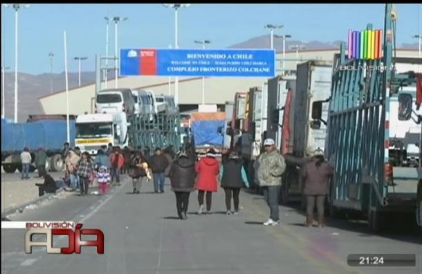 Transporte internacional en emergencia