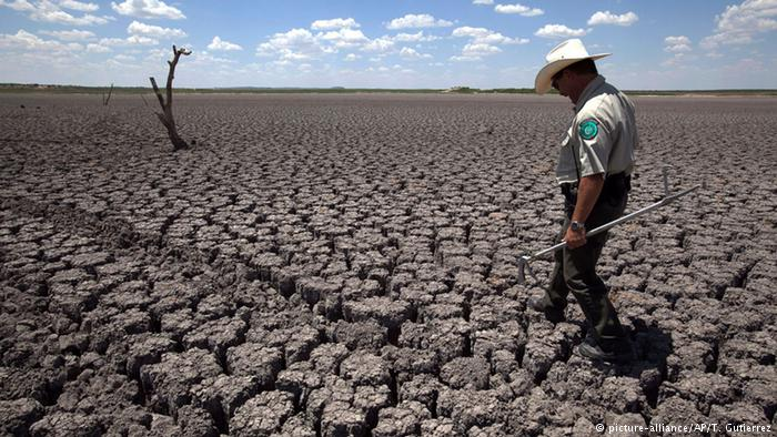 USA Texas Symbolbild Klimawandel Dürre (picture-alliance/AP/T. Gutierrez)