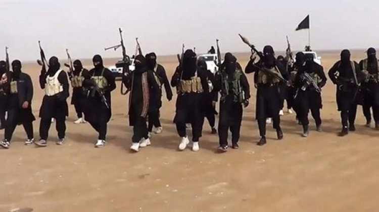 Miembros del Estado Islámico.
