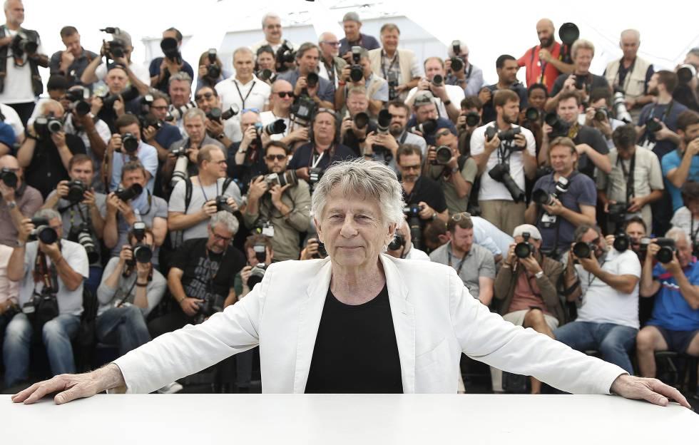 El director de cine Roman Polanski, en la última edición de Cannes, en la presentación de