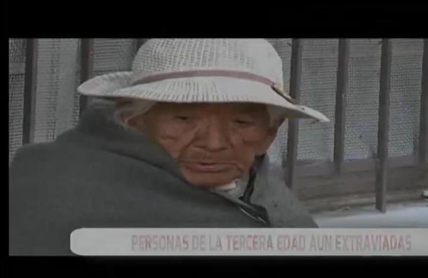 Baja cifra de ancianos extraviados