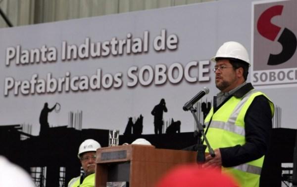 La nueva planta de prefabricados de Soboce permitirán ahorrar a constructores